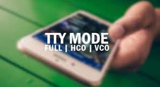 TTY mode